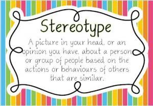 Busting Stereotypes poster freebie