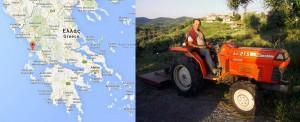 Costas et la Grèce